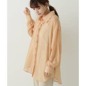IZ シアータックシャツ (オレンジ)