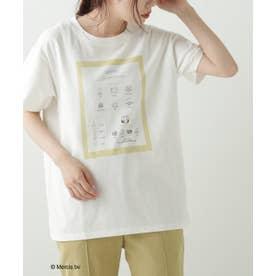 ミッフィーのぱたぱたT‐shirt (オフ白)