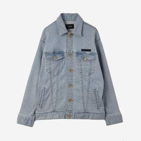 Regular-fit Denim Jacket (ブルー)