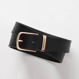 Logo leather Belt (ブラック)