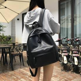 レディース バッグ かばん リュック リュックサック バックパック 通勤 通勤バッグ カジュアルバッグ (ブラック)