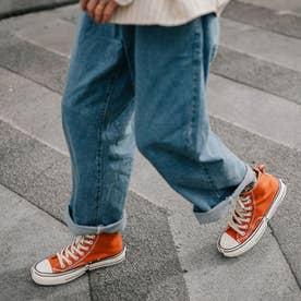 スニーカー メンズ 靴 ブラック (レッド)