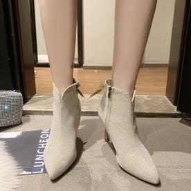 シューズ 靴 ブーツ ブーティー ショートブーツ ショート ショート丈 ブラック 黒 ブーティー 冬 (ベージュ)