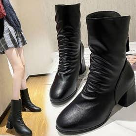 シューズ 靴 ブーツ ショートブーツ ショート ショート丈 ブラック 黒 ブーティー 冬