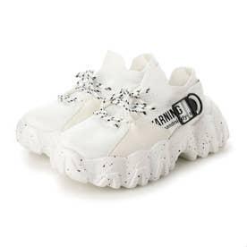 レディース 靴 シューズ スニーカー ハイテクスニーカー カジュアル 厚底 ダッドスニーカー 厚底スニーカー (ホワイト)