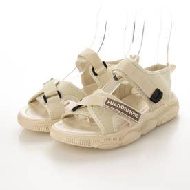 レディース サンダル 靴 シューズ 厚底サンダル スポーツサンダル スポサン (ホワイト)