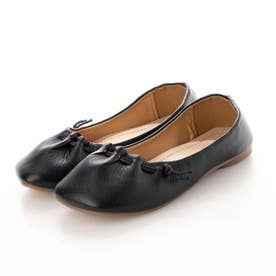 人気 フラット パンプス ぺたんこ バイカラー 歩きやすい ポインテッドトゥ レディース 靴 シューズ  フラット クッション 痛くない カジュアル オフィス FX20 (ブラ