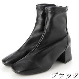 レディース  ショートブーツ (ブラック)