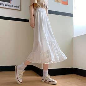 レディース スカートフレアスカート ロングスカート スカート フレア マキシスカート マキシ 韓国 韓国ファッション 人気 春 夏
