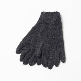 BLACK SHEEP 手編みグローブ (チャコールグレー)