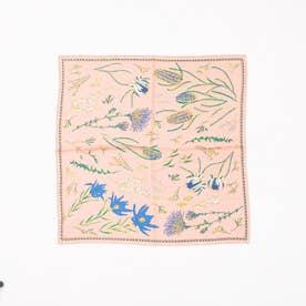 manipuri nativeflowerスカーフ (ピンク)
