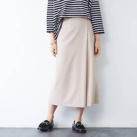 サキソニーポケット付スカート (ベージュ)
