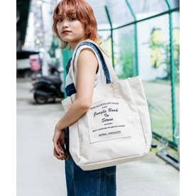 Rename ハンプ マーケットバッグ (ナチュラル/ブラック)
