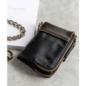 Rename aid 二つ折り財布 (BK)