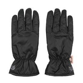 婦人 カジュアル手袋 五本指 (ブラック)