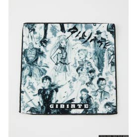 [GIBIATE]ALL STARS PATTERN Hand Towel WHT