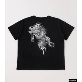龍が如く 桐生一馬TATOO Tシャツ BLK