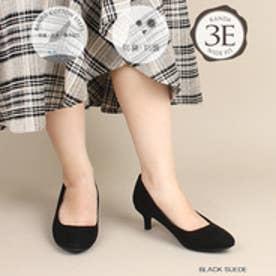 3E/ストレスフリー/走れる快適パンプス (BLK/SED)