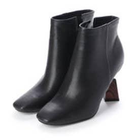 CAMILLE BIS RANDA/ヒールコンシャスショートブーツ (BLACK)