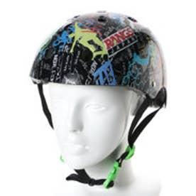 エクストリームスポーツ プロテクターセット ラングス ジュニアスポーツヘルメット ブラック 7723940117