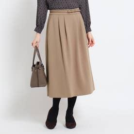 【WEB限定カラーあり】フリュイドポンチスカート (ベージュ)