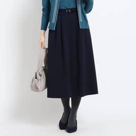 【WEB限定カラーあり】フリュイドポンチスカート (ネイビー)