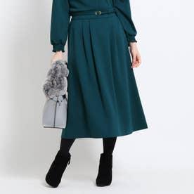 【WEB限定カラーあり】フリュイドポンチスカート (グリーン)