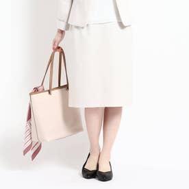 【洗える/匠シリーズ】ソフトタイトスカート (クールベージュ)