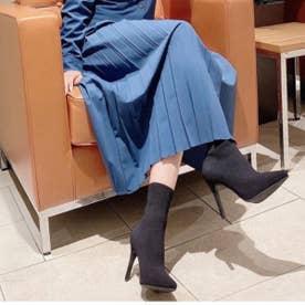 【20AW新作】【R&E】ソックスショートブーツ (ブラック)