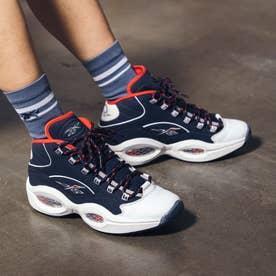 クエスチョン ミッド / Question Mid Shoes (ブルー)