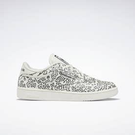 キース ヘリング クラブ シー / Keith Haring Club C Shoes (ホワイト)