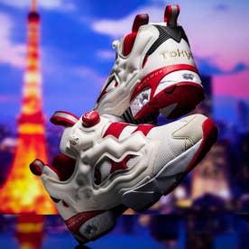"Reebok[CITY PACK ""TOKYO""]インスタポンプ フューリー / Instapump Fury OG Shoes (ホワイト)"