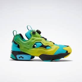 【Reebok×Chromat】インスタポンプ フューリー / Chromat Instapump Fury Shoes (グリーン)