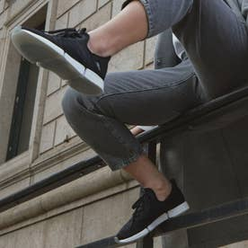 デイリーフィット DMX AP スリップオン / DailyFit DMX AP Slip-On Shoes (ブラック)