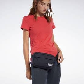 Reebokクラシックス ファウンデーション ウエストバッグ [Classics Foundation Waist Bag] (ブラック)