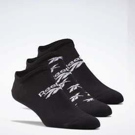 クラシックス インビジブル ソックス 3足組 / Classics Invisible Socks 3 Pairs (ブラック)