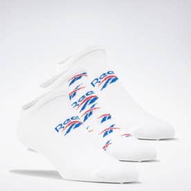 クラシックス インビジブル ソックス 3足組 / Classics Invisible Socks 3 Pairs (ホワイト)