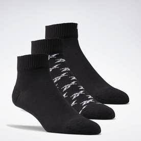 クラシックス アンクル ソックス 3足組 / Classics Ankle Socks 3 Pairs (ブラック)
