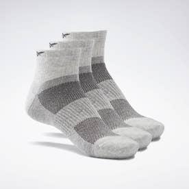 アクティブ ファウンデーション アンクル ソックス 3足組 / Active Foundation Ankle Socks 3 Pairs (グレー)