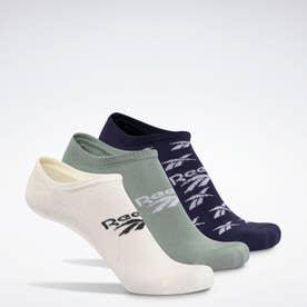 クラシックス インビジブル ソックス 3足組 / Classics Invisible Socks 3 Pairs (イエロー)