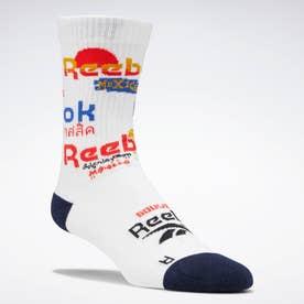 クラシックス トラベル ソックス / Classics Travel Socks (ホワイト)
