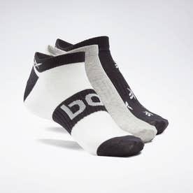 アクティブ ファウンデーション インビジブル ソックス 3足組 / Active Foundation Invisible Socks 3 Pairs (ホワイト)
