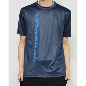 REEBOK メンズ マリン ラッシュガード REEBOK 無地ロゴエンボスUVラッシュTシャツ 420764 【返品不可商品】