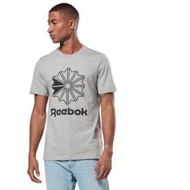 ReebokCL ビッグロゴ Tシャツ (グレー)