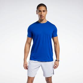 ワークアウト レディ ジャージー テック Tシャツ / Workout Ready Jersey Tech Tee (ブルー)