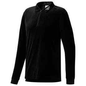 CL ベクター ロングスリーブ Tシャツ (ブラック)