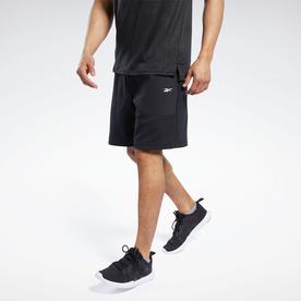 ニットウーブン ショーツ / Knit-Woven Shorts (ブラック)