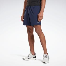 ラン エッセンシャルズ ベーシック 7インチ ショーツ / Run Essentials Basic 7-Inch Shorts (ブルー)