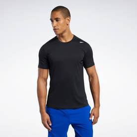 【2020秋冬】ワークアウト レディ ポリエステル テック Tシャツ / Workout Ready Polyester Tech Tee (ブラック)