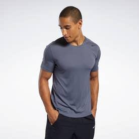 【2020秋冬】ワークアウト レディ ポリエステル テック Tシャツ / Workout Ready Polyester Tech Tee (グレー)